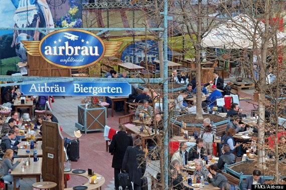 Airbrau το μοναδικό ζυθοποιείο στο αεροδρόμιο του Μονάχου