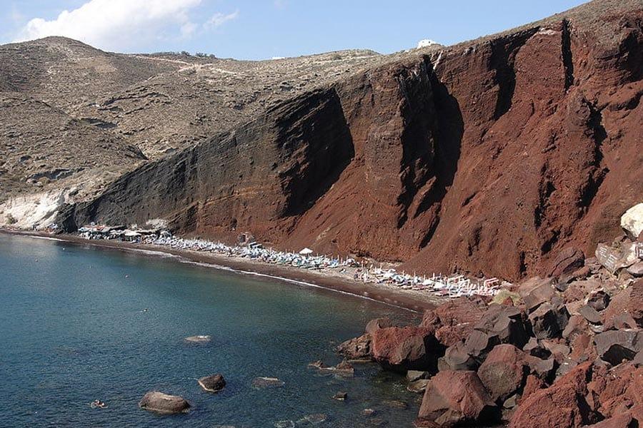 Santorini-Kokkini paralia